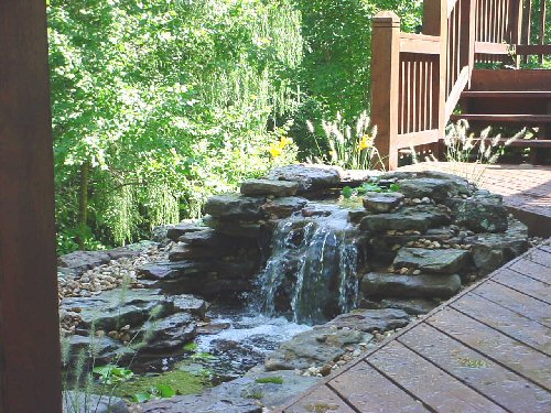 Water features denver denver water garden contractors for Water feature design